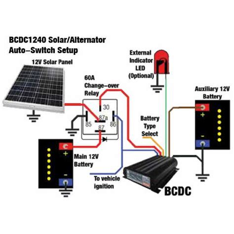 Wiring A Dual Battery System by Redarc Smart Start Bcdc1240 Battery Charger