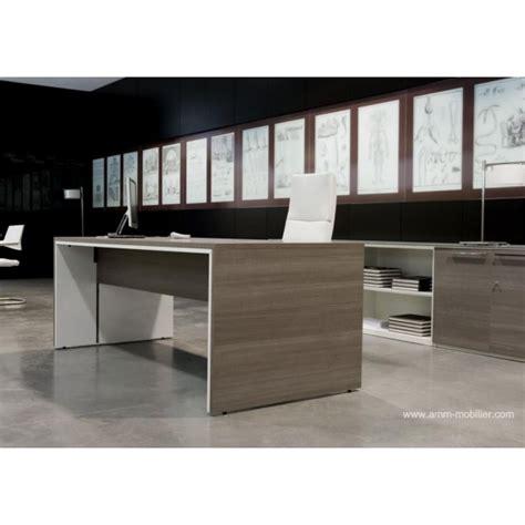 bureau blanc et gris bureau de direction urbana finition gris cendré et blanc