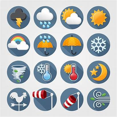 Weather Forecast Symbols Icon Library Clipart Graphics