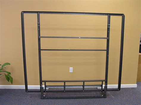 Queen Size Side Folding Murphy Bed Steel Frame Not Wall