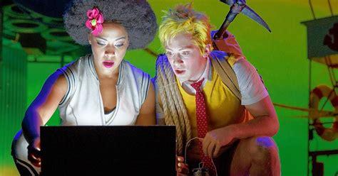 spongebob musical delights  whimsical visuals spirited cast