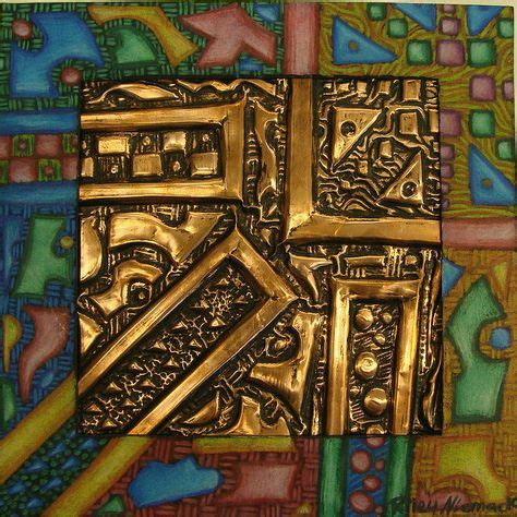 art ed metal embossing  pinterest india ink metals
