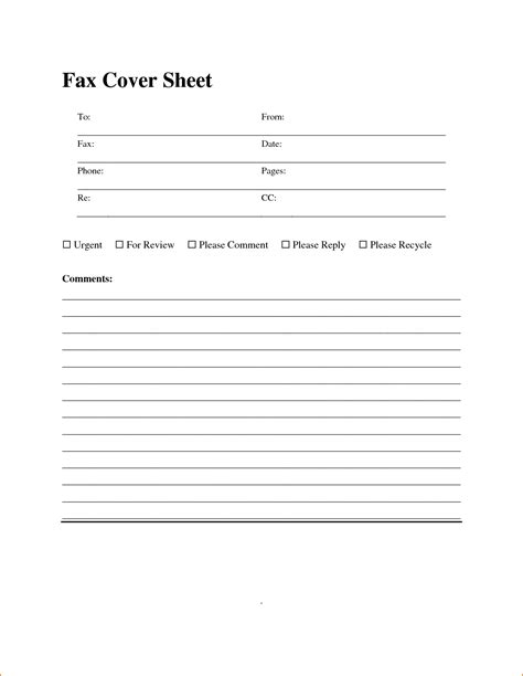download standard fax cover sheet with equity theme