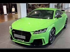 2017 Lime Green Audi TT RS at Neckarsulm Audi Forum