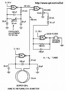 Metal Detector Circuit Diagrams And Projects