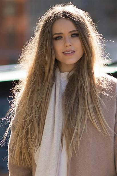 Hair Beauty Week Glamour Blond Trend Natural