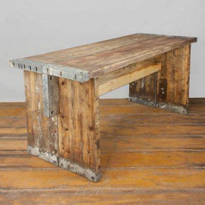Tisch Aus Alten Bohlen by Bohlen Tisch Quot Feierabend Quot 1 5m Schreibtisch