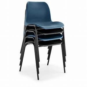 Eco Poly Chairs In Black Or Blue Rosehill Furnishings
