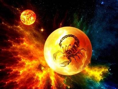 Scorpio Zodiac Cg Space Nebula Sci Fi