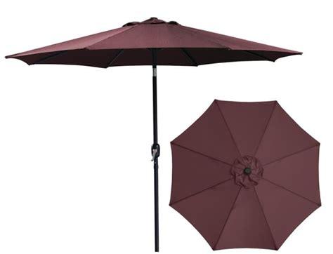 bond  burgundy market umbrella  foot  sutherlands