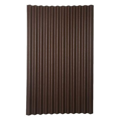 lowes kitchen ideas ondura 6 ft 7 in x 4 ft asphalt corrugated roof panel