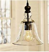 Photos Of Kitchens With Pendant Lights by LOFT Antique Clear Glass Bell Pendant Lighting Contemporary Pendant Light