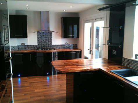 black gloss kitchen ideas high gloss black kitchen cabinets home design
