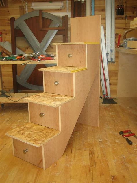 building  stairs  installation spackle sawdust