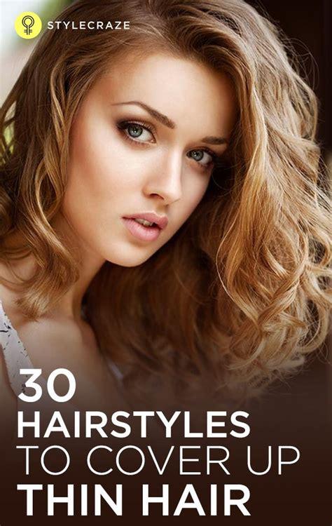 top  hairstyles  cover  thin hair