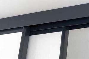 kit portes coulissantes placard obasinccom With kit rail porte placard coulissante