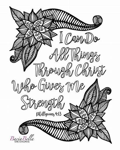 Philippians Coloring Pages Bible Sheets Adults Adult