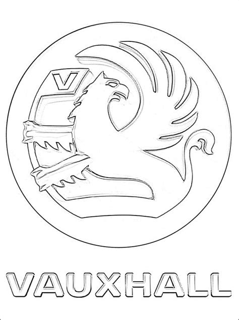 mari ferrari hello hello letra dibujo con el logo vauxhall para pintar dibujos para