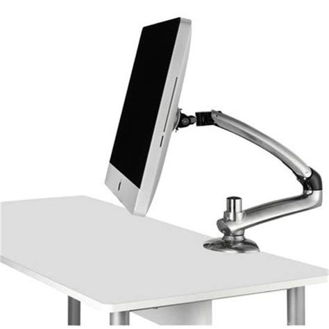 imac monitor desk mount freedom arm for imac with vesa mount ergotech fdm mac s01 vesa