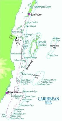 belize cayes tourist information