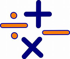 Math Signs Clip Art at Clker.com - vector clip art online ...