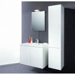 Meuble de salle de bain blanc ou ceruse detremmerie for Meuble salle de bain ceruse blanc