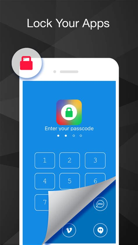 iphone app lock applock app lock with fingerprint password on the app