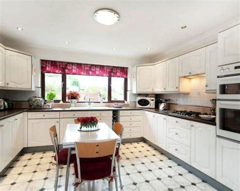 linoleum floors for kitchen white vinyl flooring kitchen design ideas photos 7126