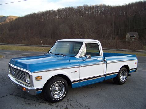 solid bed base 72 chevrolet c10 bed 350 automatic