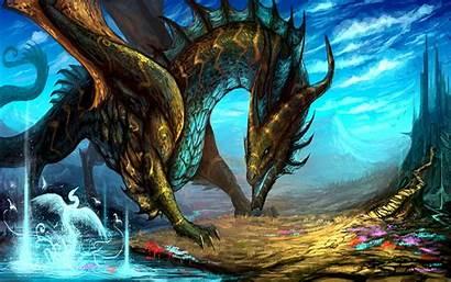 Dragon Fantasy Dragons Wallpapers Abstract Spirit Song