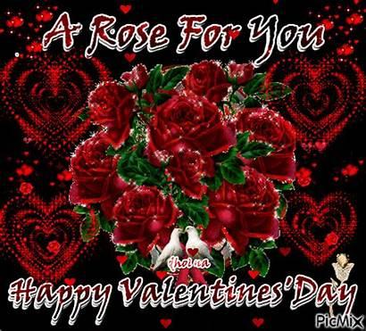 Valentine Valentines Gifs Happy Rose Animation Super