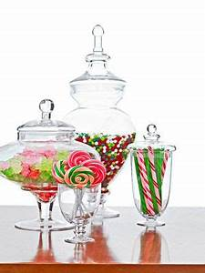 17 Best images about Christmas Glass Containers on