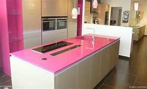 Plan De Travail 90x200 : plan de travail rose plans cuisines c t maison ~ Melissatoandfro.com Idées de Décoration