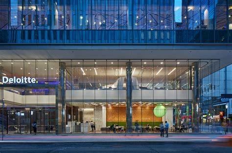 A Tour Of Deloitte's New Sleek Toronto Office Officelovin
