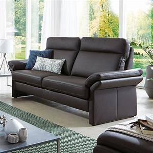 Flamme Möbel Sofa : sofa 2 sitzer fl601 in leder schwarz flamme ~ Frokenaadalensverden.com Haus und Dekorationen