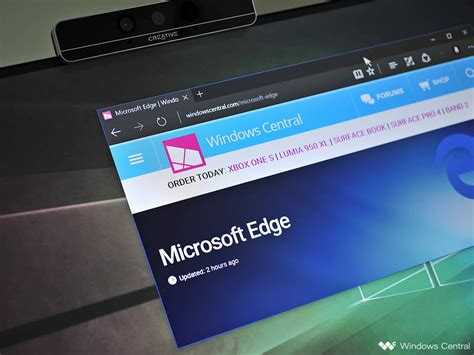 microsoft edge to add ublock origin ghostery and turn the lights extensions windows central