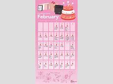The KPop Birthdays Calendar February! allkpopcom