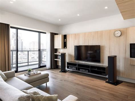 A Modern Apartment Celebrates The Look Of Wood by Pin On Audiophile