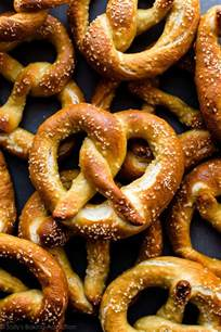 easy soft pretzels sallys baking addiction