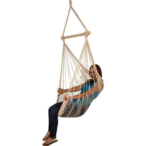 Hanging Hammock Swing Chair by Hanging Rope Chair Porch Swing Garden Tree Hammock Outdoor