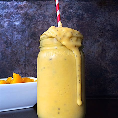 Peach Milkshakes Food Bloggers Canada