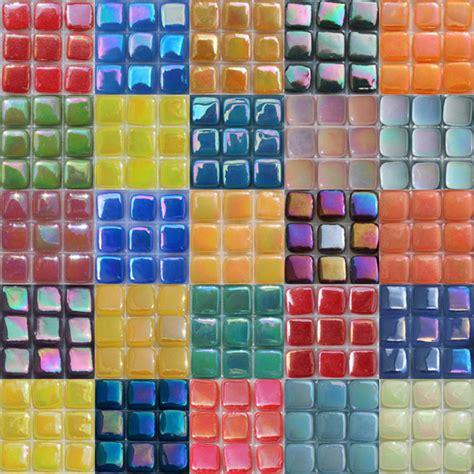 mosaic tile supplies elementile 8mm iridescent tiles