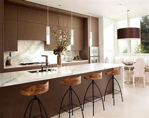 Cuisine En Marbre : 1001 designs et conseils pour la cuisine rustique parfaite ~ Melissatoandfro.com Idées de Décoration