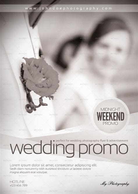 wedding photography flyer templates  premium