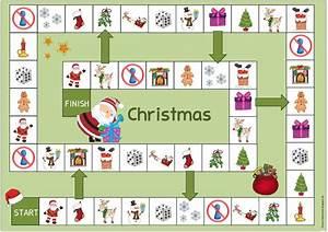 Spiele Für Weihnachten : ideenreise weihnachtliche spielfelder f r englisch und daz ~ Frokenaadalensverden.com Haus und Dekorationen
