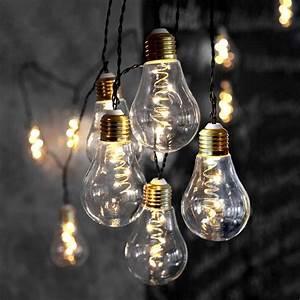 Guirlande Lumineuse Jardin : guirlande 10 ampoules micro led eclairage design ~ Melissatoandfro.com Idées de Décoration