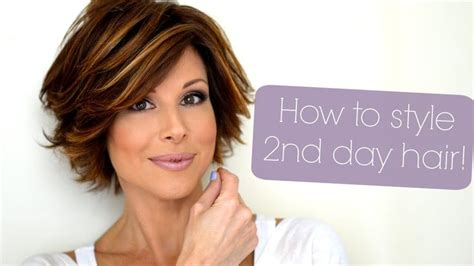 how to style second day curly hair 78 images about hairstyle on bobs julianne 4701