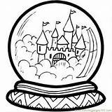 Coloring Castle Crystal Ball Pages Printable Sheet Buildings Dork Diaries Predictions Coloringpages101 Pdf sketch template