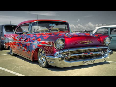 Garfield Artworks by King Talk 57 Chevy Picture O Rama