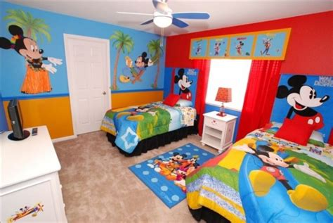 Mickey Mouse Clubhouse Bedroom Set by Mickey Room Ideas Design Dazzle